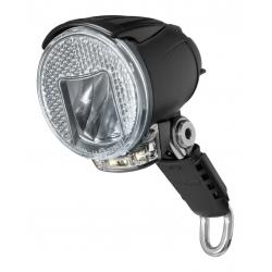 Faro LED b&m Lumotec IQ Cyo RT senso plus c.luce d.giorno 40 Lux+rifl.