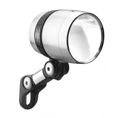 Fari LED b&m IQ-X sensoplus argento anodizzato