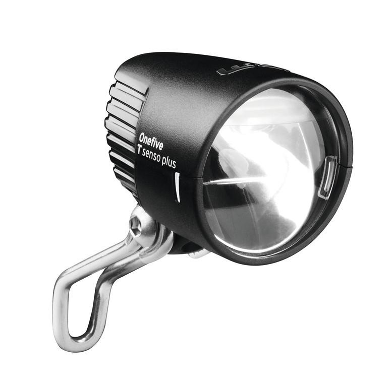 Fari LED b&m Lumotec IQ OneFive nero anodizzato