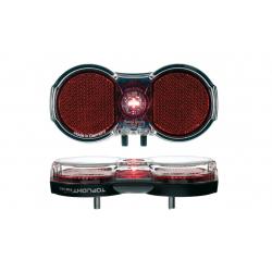 Luce posteriore b&m Toplight Flat perm a batteria con Interruttore