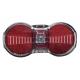 Luce posteriore b&m Toplight Flat S plus con luce di posizione