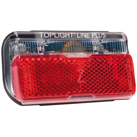 Luce post.b&m Toplight Line brake plus Funz.stop e luce d.pos.80mm
