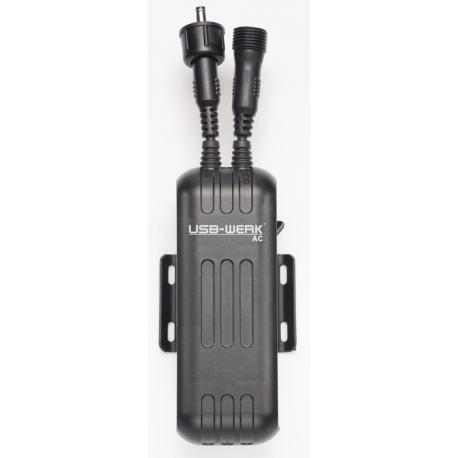 Alimentatore USB AC B&M caricabatteria mobile per dinamo a mozzo