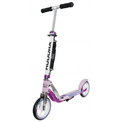 "City Scooter Big Wheel Hudora Allum 8"" 205 lilla 205mm"