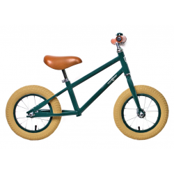 "Bici sza ped Rebel Kidz Air Classic Boy 12,5"", acciaio, Classic verde scuro"
