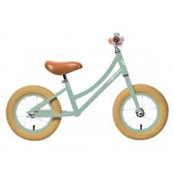 """Bici s ped RebelKidz Air Classic Unisex 12,5"""", acciaio, Classic verde chiaro"""