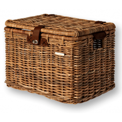 Basil Cesto in Rattan Denton Natural Brown, taglia M