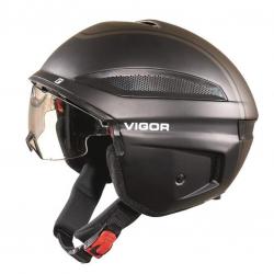Casco bici Cratoni Vigor (S-Pedalec) Tg. M (56-57cm) nero opaco