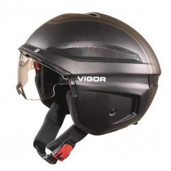 Casco bici Cratoni Vigor (S-Pedalec) Tg. XL (60-61cm) nero opaco