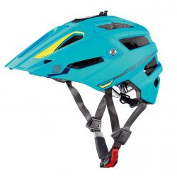 Casco bici Cratoni AllTrack (MTB) Tg. M/L (58-61cm) blu/lime gommato
