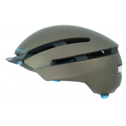 Casco Cratoni C-Loom (City) T. M/L (57-61cm) marrone/blu gommato
