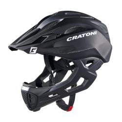 Casco bici Cratoni C-Maniac (Freeride) Tg. L/XL (58-61cm) nero opaco