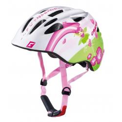 Casco bici Cratoni Akino (Kid) Tg. S (49-53cm) Fata bianco/rosa lucido