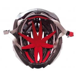 MARIPOSA imbott.casco Octo Plus Kit univ rosso, con Velcro