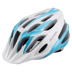 Casco Alpina FB Junior 2.0 bianco/ciano T. 50-55cm