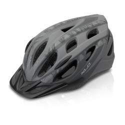 Casco bici XLC BH-C19 Tg. L/XL(54-58cm) nero/antr dis 'etnico'