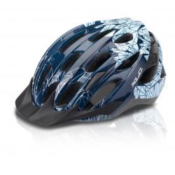 XLC Casco da bici BH-C20 Tg. L/XL(58-63cm), blu Motivo 'Prism'
