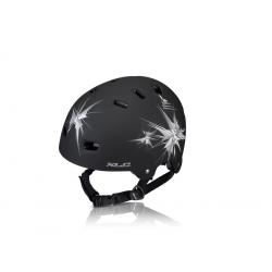 Casco XLC Urban BH-C22 Mis unica (53-59cm) nero opaco, Spikes