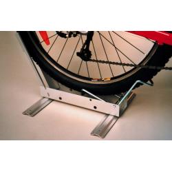 """rastrelliera per biciclette da 20"""" a 28"""" c.set d.piedi,ca.3,0kg,mod.Schlauch tubo"""