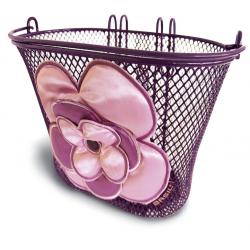Cestino anteriore bambina BASIL Jasmin lilla/rosa 26X16X15 cm
