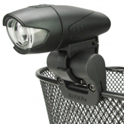 Sostegno per accessori Light Clip cestini ,nero