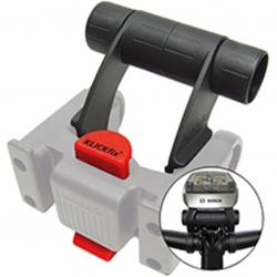 Sostegno accessori Multi Clip E per adattatore manubrio, nero