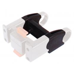 KLICKfix Prolunga per adattatore, nera, 43mm