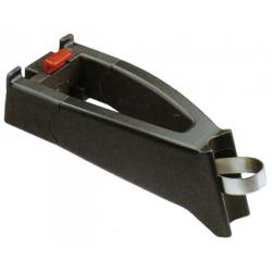 estensore con adatt.di manubrio Klickfix nero, diametro 25-32mm