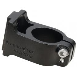 KLICKfix Adattore per attacco manubrio Ahead nero, alluminio