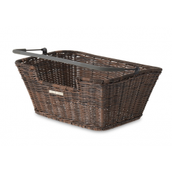 C.ruota post.Basil Capri Flex 40x31x18cm,rattan marr.,a maglia fine
