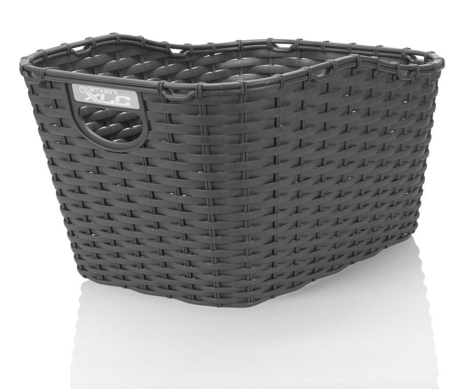 XLC cestino in polyrattan carry more per portapacchi con sistema XLC, nero