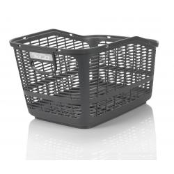 XLC cestino in plastica carry more per portapacchi con sist. XLC, antracite