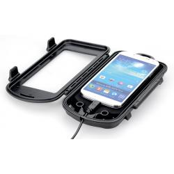 Custodia protettiva TAHUNA phone safe T. XL, dim.max.145x78x13,4mm, nero