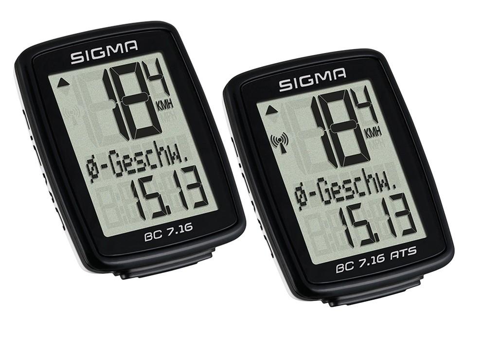 Ciclocomputer Sigma BC 7.16 con filo