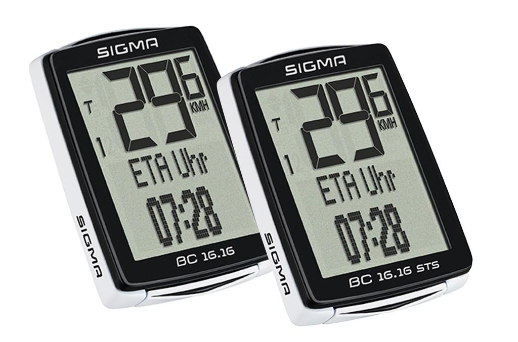 Ciclocomputer Sigma BC 16.16 con filo
