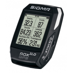Ciclocomputer Sigma Rox 11.0 GPS Basic nero
