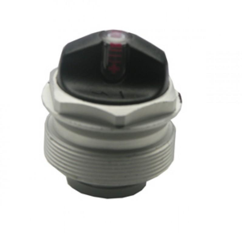 cappelletto d'aria SR-Sunt.,comp.c.valv. per forcelle con sospensione pneumatica