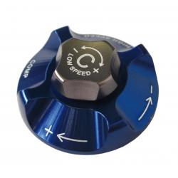 Pulsante regol.liv.pressione SR Suntour p. SF12 Durolux TA-RC2 blu