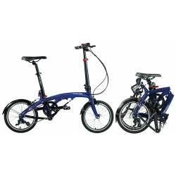 DAHON EEZZ D3 3-Gang dark blue - 16""