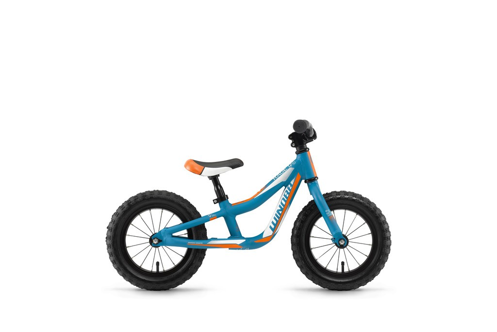 Winora rage 12 bici sz. pedali 17 ciano/bianco/aranc.opaco