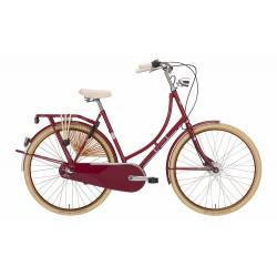 Bicicletta olandese EXCELSIOR Royal 3 Velocità Shimano Nexus, Mulberry