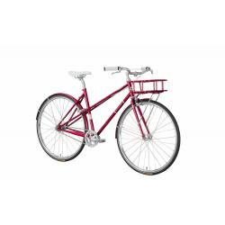 "EXCELSIOR ""Fashionista"" bici urban 2V SRAM Automatix LL, Crimson"