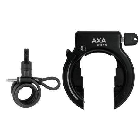 Lucchetto telaio Axa Solid Plus nero compr Newton PL150