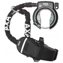 Lucch. da telaio Axa Defender mit RL 100 catena ad aggan.borsa Outdoor su carton.