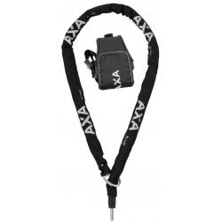Catena ad aggancio Axa RLC 140 nero 140cm, compr borsa viaggio