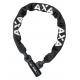 Lucchetto a catena Axa Linq 100 lunghezza 100cm, spessore 9,5mm, nero