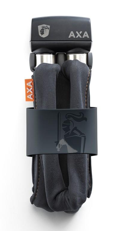 Lucchetto pieghevole Axa 1000 lungh 105cm, spessore 10mm grigio