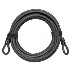 Cavo con passante AXA lunghezza 10 metri Ø10mm, nero