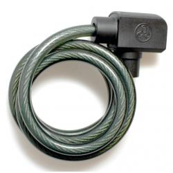 Lucch. cavo a spir.TrelockAkt.150cm,Ø8mm TS 150-8, senza supporto