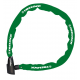 Lucchetto catena Trelock 60cm, Ø 4mm BC 115/60/4, verde, senza supporto
